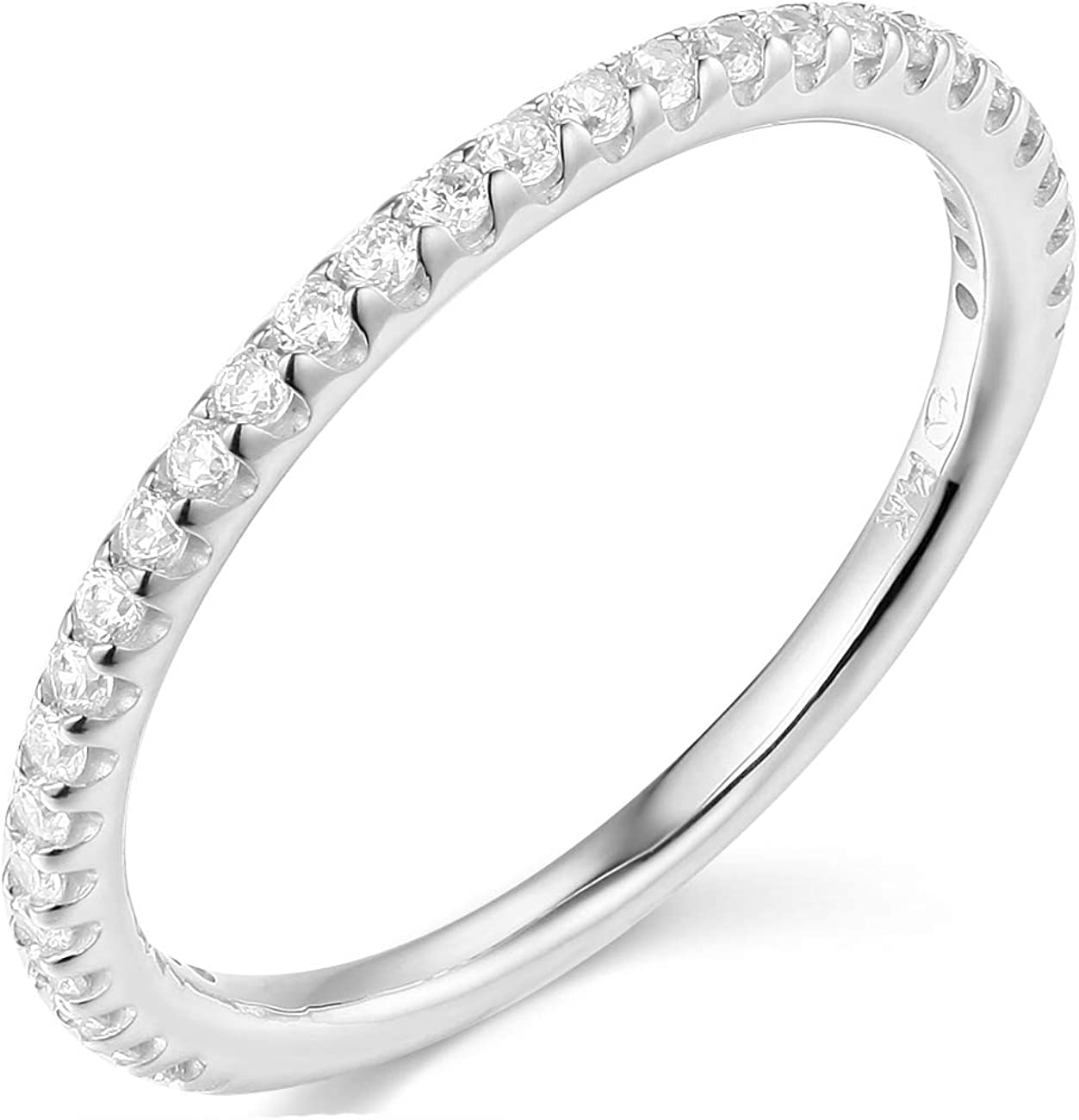 TWJC 14k Yellow OR White Solid SALENEW very popular! Gold Animer and price revision Wedding Band