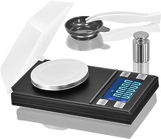Digital Milligram Pocket Scale 50 x 0.001g, Mini Jewelry Gold Lab Carat Powder Weigh..