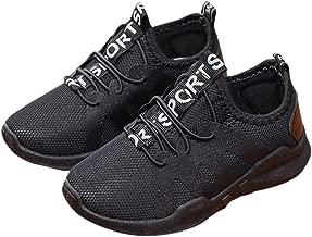 WensLTD Kids Baby Boy Girl Sneakers - Toddler Kids Lightweight Running Sneakers Casual Sport Shoes
