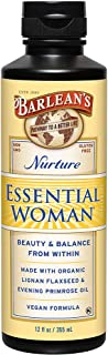 Barlean's Organic Oils, The Essential Woman, 12-Ounce Bottle