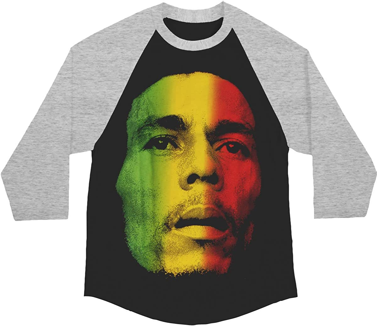 Bob Marley Men's Black Jersey Baseball Challenge the lowest price Brand Cheap Sale Venue