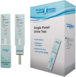 Prime Screen – [10 Pack] Nicotine / Tobacco / Cotinine Urine Test Kit – at..
