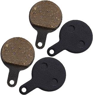 2 pares de pastillas de freno de disco de resina para bicicleta MTB de 23 mm para Tektro IOX