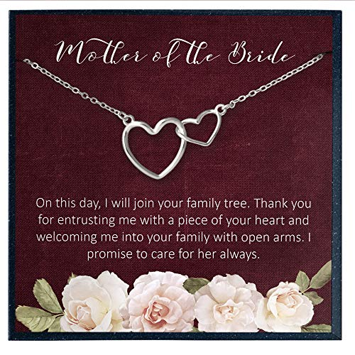 Mother of the Bride Gifts from Groom, Mother in Law Wedding Gifts from Groom, Mother of the Bride Necklace Gifts for Mother of the Bride Wedding