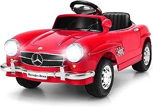 Costzon Ride On Car, Licensed Mercedes Benz 300SL, 6V Electric Kids Vehicle with Manual/Parental Remote Control Modes, Lig...