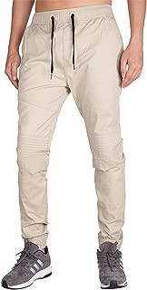 ITALY MORN Men's Casual Jogger Pants Slim Fit Stretch Sweatpants