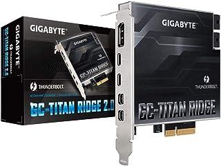 GIGABYTE GC-TITAN RIDGE 2.0 Thunderbolt3 拡張カード Intel Z490/H470チップセット搭載マザーボード用 IO2535