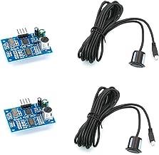 Treedix 2 pcs JSN-SR04T Ultrasonic Module Sensor Distance Measuring with Waterproof Probe Compatible with Arduino