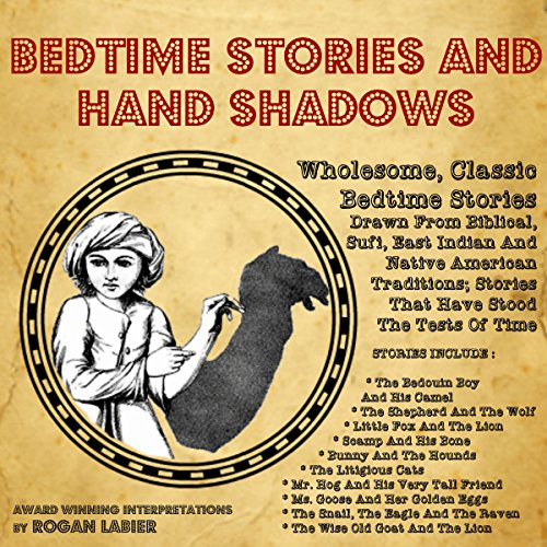 Bedtime Short Stories and Hand Shadows cover art
