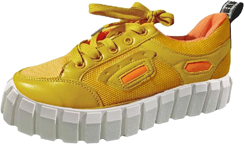 Oakland Mall Women's Sneakers Running Safety and trust Walking Shoes Platform Sports Flat-Bott