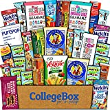 CollegeBox Healthy Care Package (30 Count) Natural Bars Nuts Fruit Health Nutritious Snacks Variety...