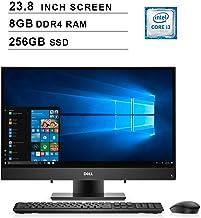 $661 Get 2019 Dell Inspiron 3000 23.8 Inch Full HD Touchscreen All-in-One Desktop (Intel Core i3-7130U 2.7GHz, Dual Cores, 8GB DDR4 RAM, 256GB SSD, WiFi, Bluetooth, HDMI, Windows 10) (Black)