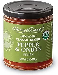 Harry & David Organic Classic Pepper & Onion Relish (10 Ounces)