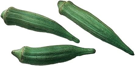 Burpee Clemson Spineless Okra Seeds 250 seeds