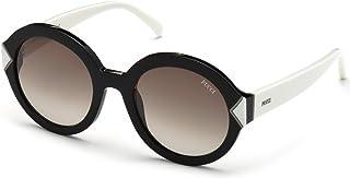 2609c0fed39a Sunglasses Emilio Pucci EP 0069 01K shiny black / gradient roviex