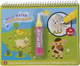 Goolsky Magic Water Drawing Book Coloring Water Painting Doodle Book for Kids Children Birthday Gift