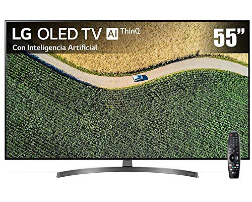 Pantalla LG OLED TV AI ThinQ 4K 55' OLED55B9PUB con Alexa integrada