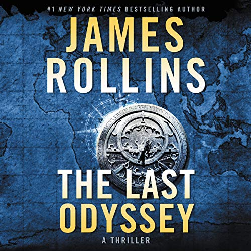 The Last Odyssey audiobook cover art