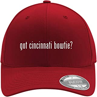 got Cincinnati Bowtie? - Adult Men's Flexfit Baseball Hat Cap