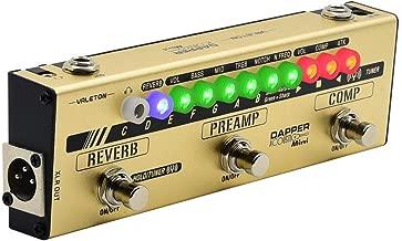 Valeton Dapper Acoustic Mini Guitar Multi Effects Pedal (MES-4)