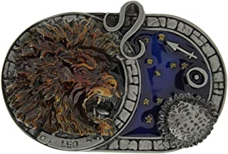 Zodiac Star Signs Belt Buckles (Leo). Comes in one of my Presentation Boxes