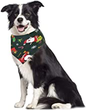 Snowlike Bandanas Handkerchiefs Scarfs Pet Bibs Saliva Towel Christmas Decor Triangle Bibs Accessories for Dogs Puppy