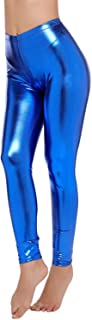 Best blue metallic leggings Reviews