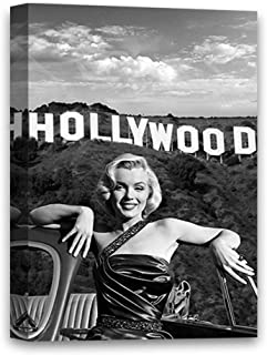 Funny Ugly Christmas Sweater Marilyn Monroe Poster Hollywood Star Some Like It Hot Movie Actress Iconic Monroe Portrait Canvas Art 24