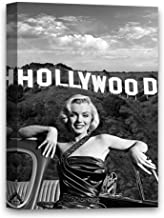 """Funny Ugly Christmas Sweater Marilyn Monroe Poster Hollywood Star Some Like It Hot Movie Actress Iconic Monroe Portrait Canvas Art 8"""" x 12"""""""
