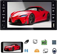 $49 » Sponsored Ad - 7 Inch Double Din Car Stereo, Touch Screen Car Radio with Bluetooth, AM/FM Radio with USB AUX-in Port Suppo...
