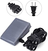 Foot Controller Pedal & Cord Sewing Machine Parts for Singer(US Plug 110v)
