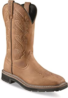 Men's Square Toe Pull-On Western Boots