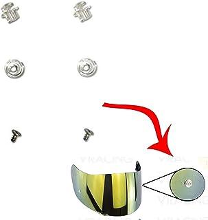 VRacing Coppia Perni Pinlock Visiera Casco AGV K3 Sv K1 K5 K5s S4-Sv Horizon Stealth-Sv Skyline Strada Numo Aftermerket GT2 GT2-1