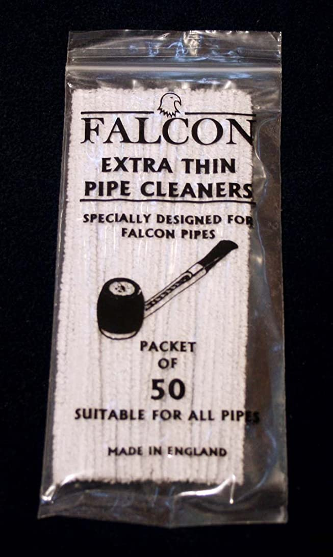 Extra thin FALCON Pipe Cleaners - 1 bag of 50