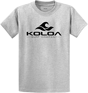 Koloa Surf Co. Wave Logo Cotton T-Shirts in Regular, Big and Tall Sizes