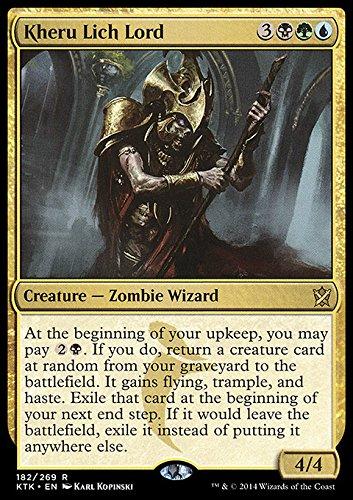 Magic The Gathering - Kheru Lich Lord (182/269) - Khans of Tarkir