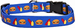 cheeseburger dog collar