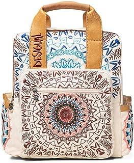 Luxury Fashion   Desigual Womens 19WAKA15WHITE White Backpack   Fall Winter 19