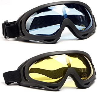 SPOSUNE Motorcycle Goggles Airsoft Goggles for Men Women...