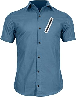 Pedaler's Pub Shirt - Casual Cycling Jersey with Zip Pockets