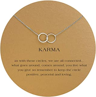 interlocking circle necklace meaning