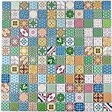 Retro Vintage Pop Up marily Monroe mosaico azulejos cerámica mehrfarben Multicolor Star para pared baño inodoro ducha cocina azulejos Espejo Mostradores cubierta para bañera. wb18d de 1605