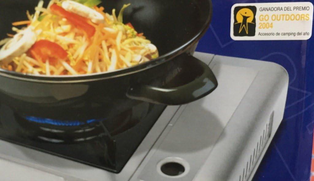 Cocina portátil de gas Butsir - Ideal para camping, catering, barcos, aire libre, barbacoas, camiones, caravana, picnics, jardines o fondues – Premio ...