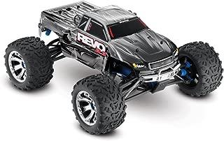 Traxxas Revo 3.3: 1/10 Scale 4WD Nitro-Powered Monster Truck with TQi 2.4GHz Radio & TSM, Silver