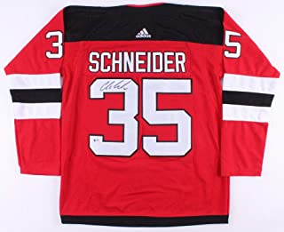 Cory Schneider Autographed Signed Devils Adidas NHL Jersey (beckett) New Jersey Goal Tender