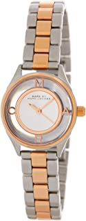 Marc by Marc Jacobs Tether Women's Silver Dial Stainless Steel Band Watch - MBM3418