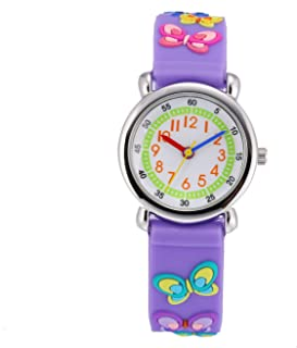 Cute Toddler Children Kids Watches Ages 3-7 Analog Time...
