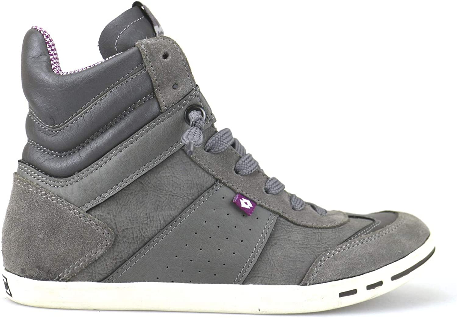 Lotto Fitness & Cross-Training Womens Suede Grey