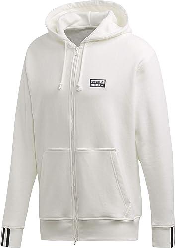 Adidas Vocal FZ Sweat zippé à Capuche Core blanc