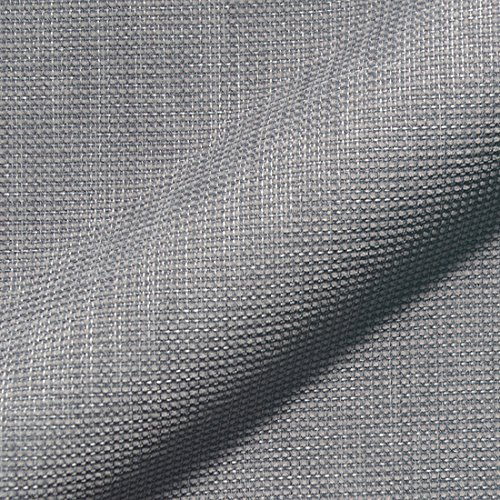 Stoff Polsterstoff Möbelstoff Bezugsstoff Meterware für Stühle, Eckbänke, etc. - Mondo Grau Uni - MUSTER
